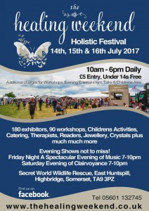 The Healing weekend poster 2017