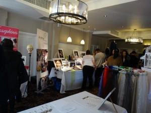 More exhibitors around the corner